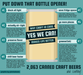 why canned craft beer makes life better